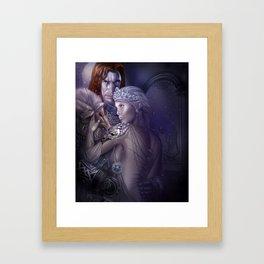 Wolf Queen Framed Art Print