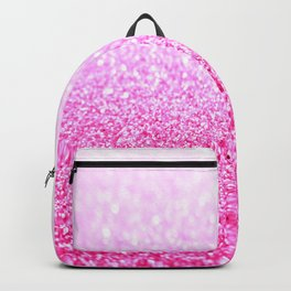 Pink Lavender Sparkle Glitter Backpack