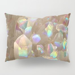 Unicorn Horn Aura Crystals Pillow Sham