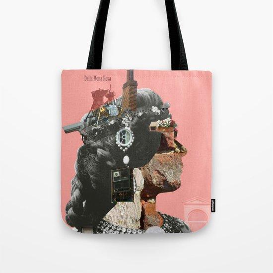 Crazy Woman - Della Mona Rosa Tote Bag