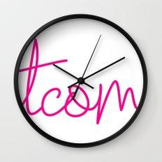 #TCOM Wall Clock