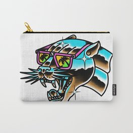 Chrome panther Carry-All Pouch