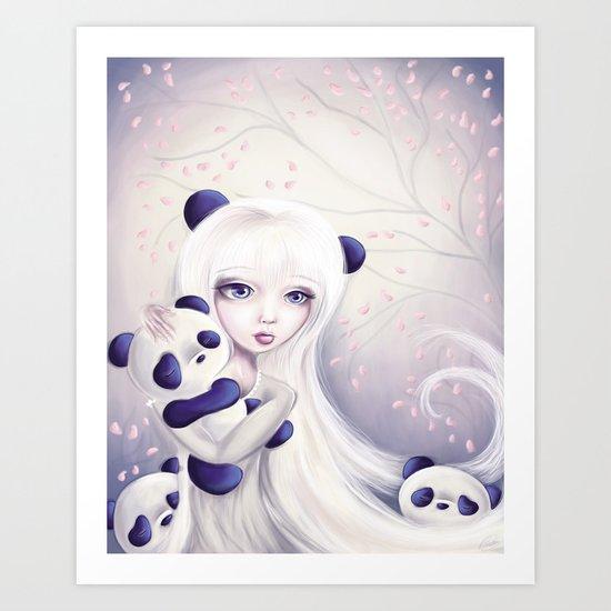 Panda: Protection Series Art Print