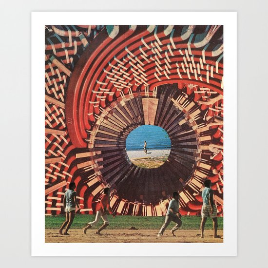 welcome to the machine Art Print