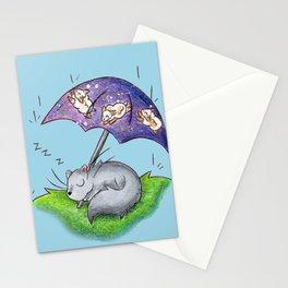 April Snooze Stationery Cards