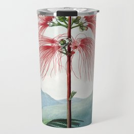 Large Flowering Sensitive Plant - The Temple of Flora Travel Mug