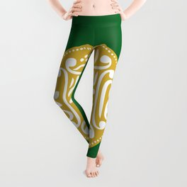 Rohingya Flag  Leggings