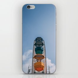 Ferry Wheel at the top of Tibidabo iPhone Skin
