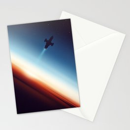 Into Space Stationery Cards