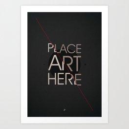 The Art Placeholder Art Print