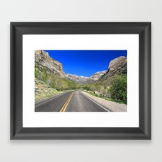 Lamoille Canyon Framed Art Print