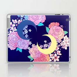 Floral Moon Laptop & iPad Skin