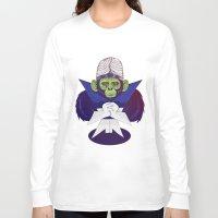 jojo Long Sleeve T-shirts featuring Mojo Jojo by Mikhail Desales
