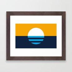 The People's Flag of Milwaukee Framed Art Print