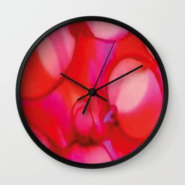 Air Bubbles Wall Clock
