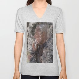 Head in the trunk Unisex V-Neck