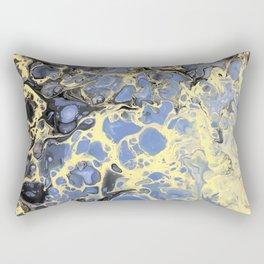 Mellow Yellow (and lavender) Rectangular Pillow