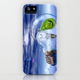 The perfect couple to dive iPhone Case