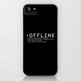 OFFLINE iPhone Case