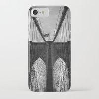 brooklyn bridge iPhone & iPod Cases featuring Brooklyn Bridge by Nicklas Gustafsson