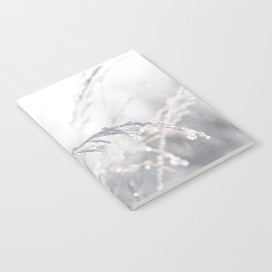 winter Pastel Notebook