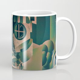 Utopia Skull 1 Coffee Mug
