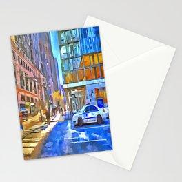New York Street Pop Art Stationery Cards