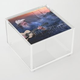 Folk Music In The Hills Acrylic Box