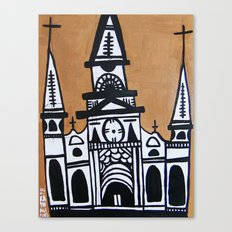 I Heart St. Louis Cathedral  Canvas Print