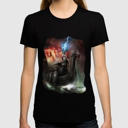 Dragon Viking Ship T-shirt