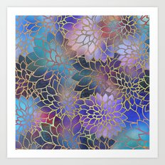 Floral Abstract 5 Art Print