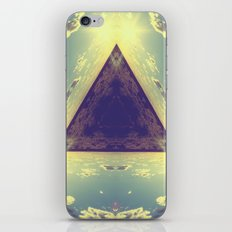 Triangles in the sky iPhone & iPod Skin