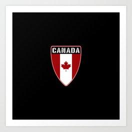 Canadian Shield Art Print
