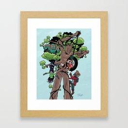 KinderGuardians Framed Art Print