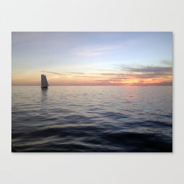Sailing Key West Canvas Print