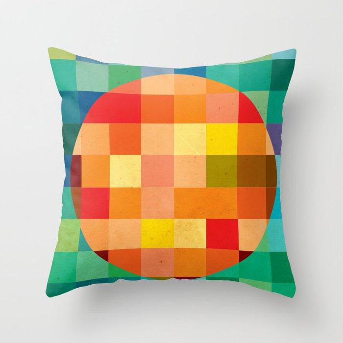 Color player Throw Pillow