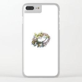 Little Terrariums Clear iPhone Case