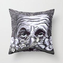 Einstein: The Patent Clerk Throw Pillow