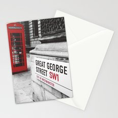 Great George Street (v.2 : square) Stationery Cards