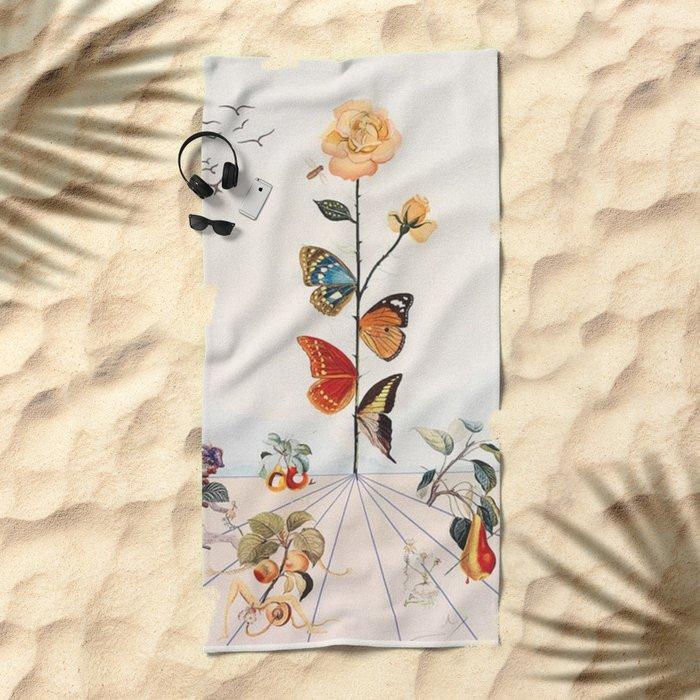 Salvador Dali Beach Towel
