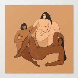 The Furies Canvas Print