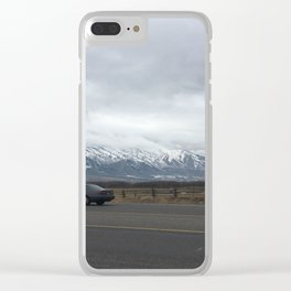 midwest sedan Clear iPhone Case
