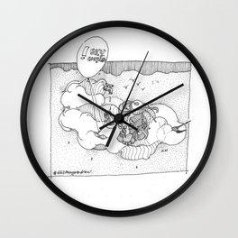 { Drinkin Flyin Head } Wall Clock