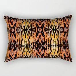 Tiger Style Rectangular Pillow