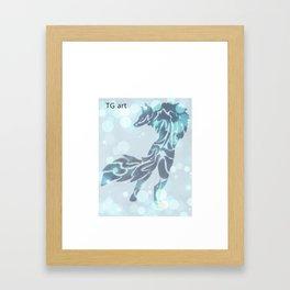 jumpy  Framed Art Print