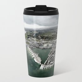 Flood Resilient Townscape - Par Docks Travel Mug