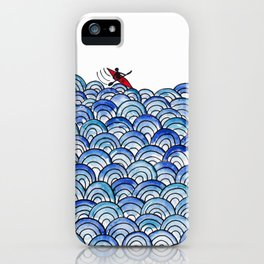 Over the Waves iPhone Case