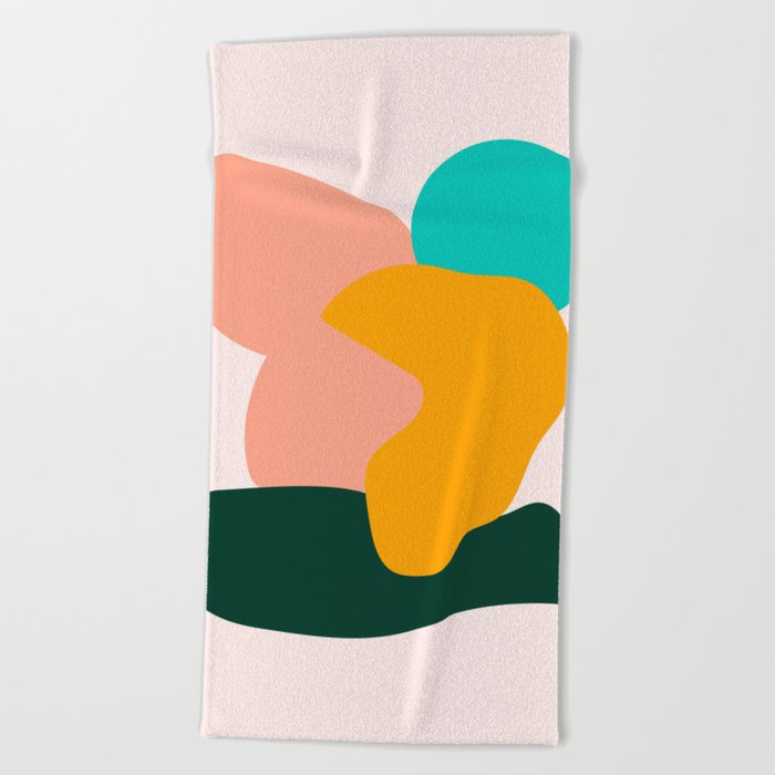 Nice Day Beach Towel By Bonfimarts
