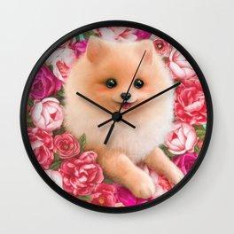 Pom Pom Wall Clock