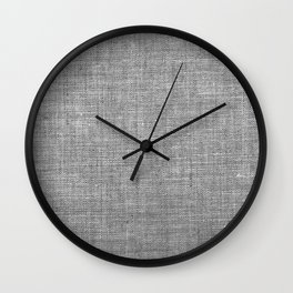 Canvas texture fashion design Wall Clock